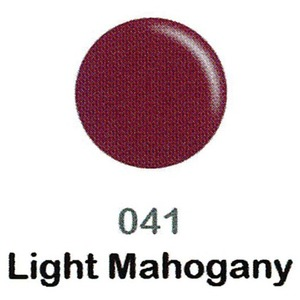 DND Duo Gel Pack - DC Collection - LIGHT MAHOGANY - #041 1 Gel Polish 0.47 oz. + 1 Lacquer 0.47 oz. in Matching Color (DND-DC-041)