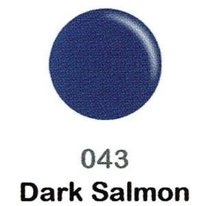DND Duo Gel Pack - DC Collection - DARK SALMON - #043 1 Gel Polish 0.47 oz. + 1 Lacquer 0.47 oz. in Matching Color (DND-DC-043)