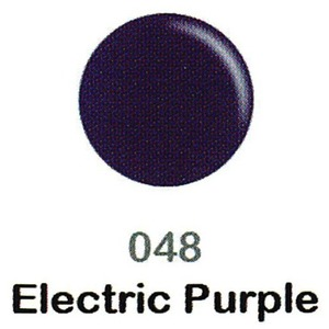 DND Duo Gel Pack - DC Collection - ELECTRIC PURPLE - #048 1 Gel Polish 0.47 oz. + 1 Lacquer 0.47 oz. in Matching Color (DND-DC-048)