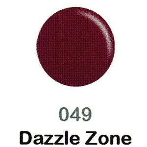 DND Duo Gel Pack - DC Collection - DAZZLE ZONE - #049 1 Gel Polish 0.47 oz. + 1 Lacquer 0.47 oz. in Matching Color (DND-DC-049)