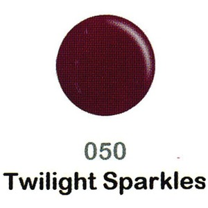 DND Duo Gel Pack - DC Collection - TWIGHTLIGHT SPARKLES - #050 1 Gel Polish 0.47 oz. + 1 Lacquer 0.47 oz. in Matching Color (DND-DC-050)