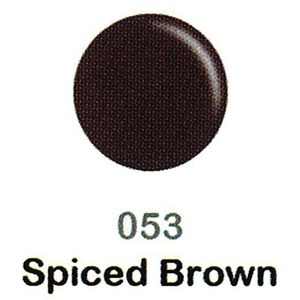 DND Duo Gel Pack - DC Collection - SPICED BROWN - #053 1 Gel Polish 0.47 oz. + 1 Lacquer 0.47 oz. in Matching Color (DND-DC-053)