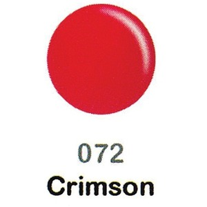 DND Duo Gel Pack - DC Collection - CRIMSON - #072 1 Gel Polish 0.47 oz. + 1 Lacquer 0.47 oz. in Matching Color (DND-DC-072)