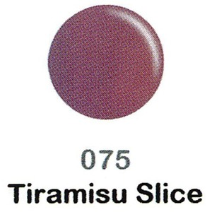 DND Duo Gel Pack - DC Collection - TIRAMISU SLICE - #075 1 Gel Polish 0.47 oz. + 1 Lacquer 0.47 oz. in Matching Color (DND-DC-075)
