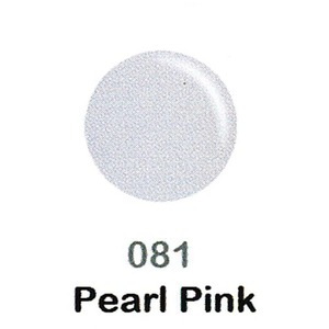 DND Duo Gel Pack - DC Collection - PEARL PINK - #081 1 Gel Polish 0.47 oz. + 1 Lacquer 0.47 oz. in Matching Color (DND-DC-081)