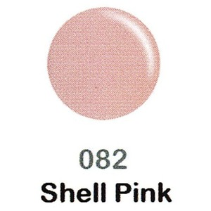 DND Duo Gel Pack - DC Collection - SHELL PINK - #082 1 Gel Polish 0.47 oz. + 1 Lacquer 0.47 oz. in Matching Color (DND-DC-082)