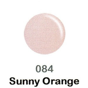 DND Duo Gel Pack - DC Collection - SUNNY ORANGE - #084 1 Gel Polish 0.47 oz. + 1 Lacquer 0.47 oz. in Matching Color (DND-DC-084)