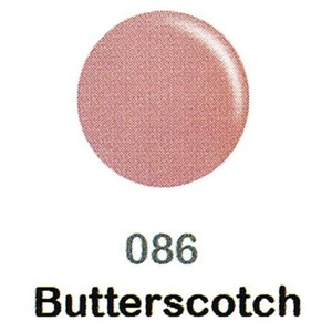DND Duo Gel Pack - DC Collection - BUTTERSCOTCH - #086 1 Gel Polish 0.47 oz. + 1 Lacquer 0.47 oz. in Matching Color (DND-DC-086)