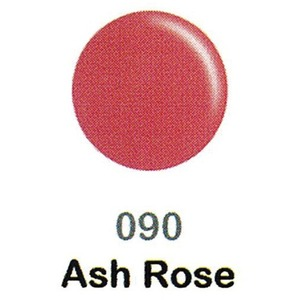 DND Duo Gel Pack - DC Collection - ASH ROSE - #090 1 Gel Polish 0.47 oz. + 1 Lacquer 0.47 oz. in Matching Color (DND-DC-090)