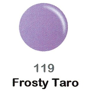 DND Duo Gel Pack - DC Collection - FROSTY TARO - #119 1 Gel Polish 0.47 oz. + 1 Lacquer 0.47 oz. in Matching Color (DND-DC-119)
