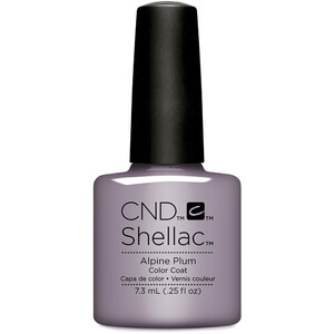 CND Shellac - Glacial Illusion The Collection - Alpine Plum 0.25 oz. - The 14 Day Manicure is Here! (768783)