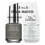 IBD It's a Match Duo - FIREWORKS - #65465 a Matching Set - (1) Advanced Wear Pro Lacquer 0.5 oz. + (1) Just Gel Polish 0.5 oz. (24434)