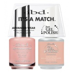 IBD It's a Match Duo - FLOWERFUL - #65484 a Matching Set - (1) Advanced Wear Pro Lacquer 0.5 oz. + (1) Just Gel Polish 0.5 oz. (24450)
