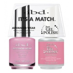 IBD It's a Match Duo - FUNNY BONE - #65487 a Matching Set - (1) Advanced Wear Pro Lacquer 0.5 oz. + (1) Just Gel Polish 0.5 oz. (24452)