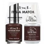 IBD It's a Match Duo - BUSTLED UP - #65523 a Matching Set - (1) Advanced Wear Pro Lacquer 0.5 oz. + (1) Just Gel Polish 0.5 oz. (24484)