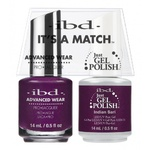 IBD It's a Match Duo - INDIAN SARI - #65533 a Matching Set - (1) Advanced Wear Pro Lacquer 0.5 oz. + (1) Just Gel Polish 0.5 oz. (24494)