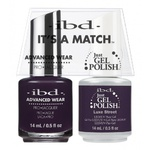 IBD It's a Match Duo - LUXE STREET - #65536 a Matching Set - (1) Advanced Wear Pro Lacquer 0.5 oz. + (1) Just Gel Polish 0.5 oz. (24497)