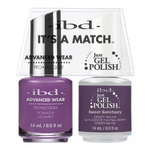 IBD It's a Match Duo - SWEET SANCTUARY - #65538 a Matching Set - (1) Advanced Wear Pro Lacquer 0.5 oz. + (1) Just Gel Polish 0.5 oz. (24499)