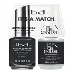 IBD It's a Match Duo - VIKING WINTER - #65568 a Matching Set - (1) Advanced Wear Pro Lacquer 0.5 oz. + (1) Just Gel Polish 0.5 oz. (24528)