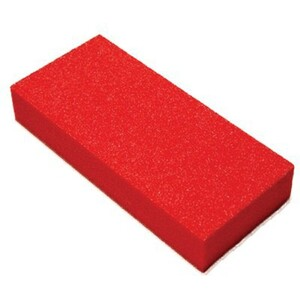 "Slim Buffer - Orange-White 100120 Grit Case of 500 Pieces - 3""x1.375""x0.5"" Each (c2w-box-O-W.png)"