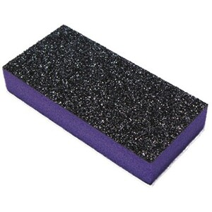 "Slim Buffer - Purple-Black 80100 Grit Case of 500 Pieces - 3""x1.375""x0.5"" Each (10822-SBPB3)"