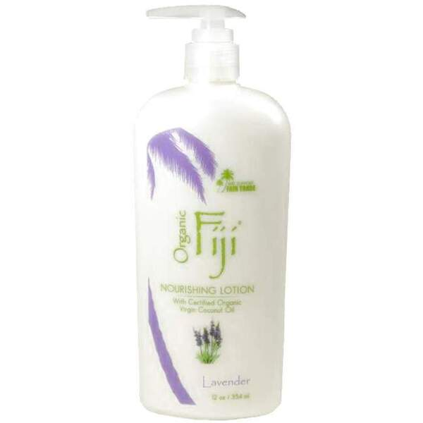 Lavender Moisturizing Lotion: Made With Certified Organic Coconut Oil 12 oz. Each Case of 12 (833884000084)