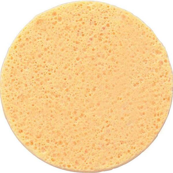 "PVA Foam Facial Sponge - Yellow - Individually Wrapped 2.63"" Diameter x 0.3"" Thick 250 Pack (20201 X 250)"