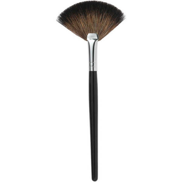 "Makeup Finishing Fan Brush - 6.5"" Long - 2.5"" Wide 50 Pack - Individually Wrapped (511011 X 50)"