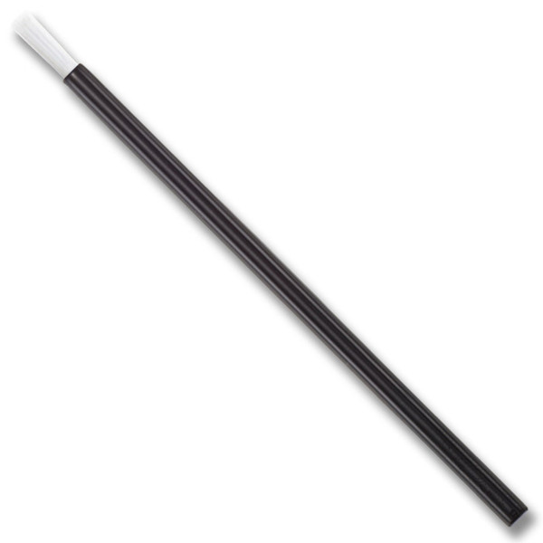 "Lip Brush - Black Handle + White Bristles - 3.5"" Long (88.9 mm) 1750 Pack (76651 X 70)"