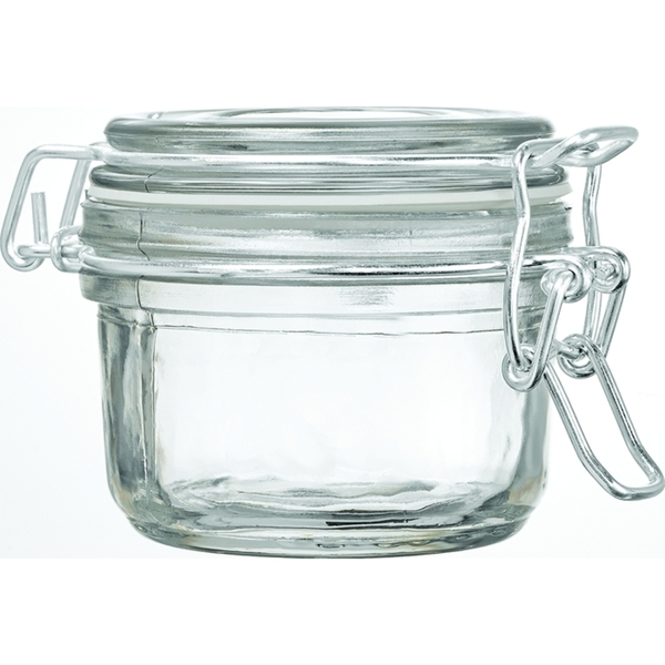 Glass Hermetic Storage Jars - 125 mL. - 4.17 oz. 50 Pack (29982 X 50)