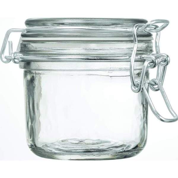 Glass Hermetic Storage Jar - 200 mL. - 6.67 oz. 50 Pack (29983 X 50)
