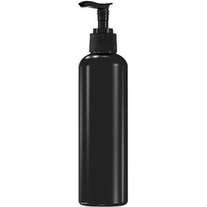 Bottle with Lotion Pump - Black - 250 mL. - 8.33 oz. Each Case of 75 Individually Wrapped (29114 X 75)