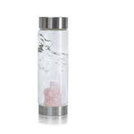 VitaJuwel ViA - Gem Water Bottle - Cupid's Kiss: Rose Quartz (01VJVIARQ)