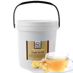 White Tea & Ginger With Rosewater - Hand Foot Body Sugar Scrub - Anti-Aging 75 oz. Tub - 2 Pack = 150 oz. by MeBath (BSS415 X 2)