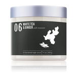 White Tea & Ginger With Rosewater - Tri-Functional Sugar Scrub 14 oz. Each - Case of 6 by MeBath (SS121)