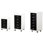 "DIR Trolley Dionysus - 4 Drawers - Small 28.1"" Tall (5201)"
