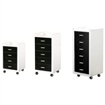"DIR Trolley Dionysus - 5 Drawers - Medium 33.5"" Tall (5201)"