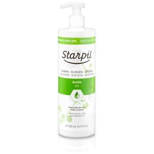 Starpil Post Epil Oil from Spain 500 mL. (16.9 oz.) X 4 Bottles = 1 Case (1511013 X 4)