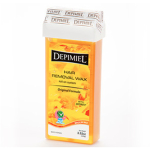Depimiel - Soft Strip Wax From Brazil - Roll On Original Formula 3.52 oz. per Cartridge Case of 50 Cartridges (5213-Case)