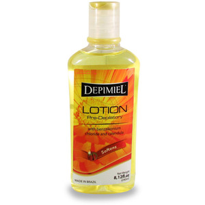 Depimiel - Pre-Depilatory Lotion with Benzalkonium Chloride and Calendula 8.12 Fl. Oz. - 240 mL. Each Case of 12 Bottles ()