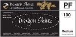 Dragon Skinz Black Powder-Free Latex Disposable Gl