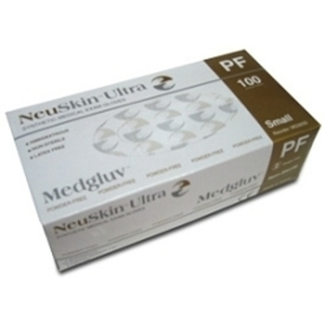 NeuSkin ULTRA Powder-Free Synthetic Exam Gloves