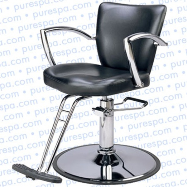 Korina Styling Chair With Round Base (SH-2462B)