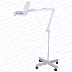 Magnus 5 Diopter LED Magnifying Lamp with Floor Stand (6025+STAND)