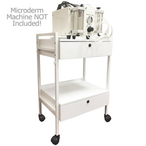 Crissy Trolley with 2 Shelves and 2 Locking Drawers (ASF 1019)