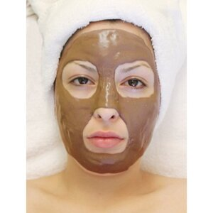 Algae Peel-Off Mask - Coffee Espresso Reaffirming Mask 4.4 Lbs. (2 Kilograms) Bulk Pack (LV3090 X 2)