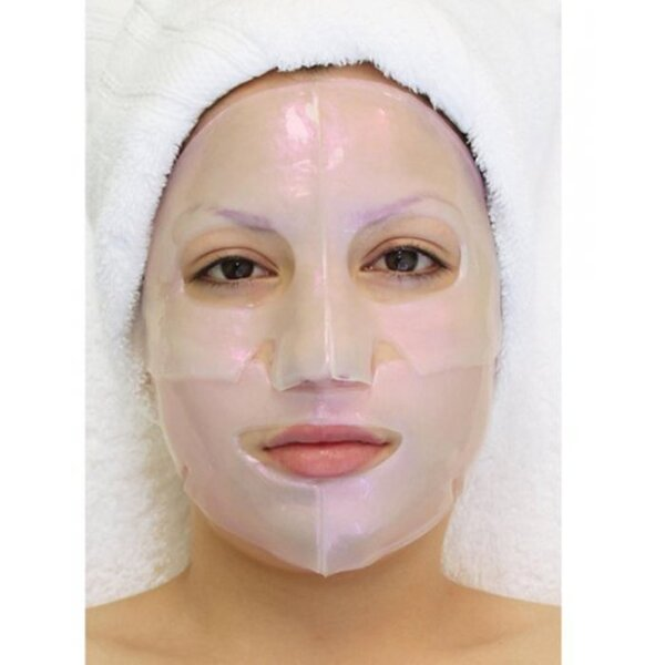 Hydrophylic Gel Collagen Mask - Diamond Illuminating Collagen Mask Pack of 8 - Each is Single Use (MX9007 X 8)