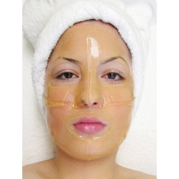 Hydrophylic Gel Collagen Mask - Saffron Collagen Mask Pack of 15 - Each is Single Use (MC4568 X 15)