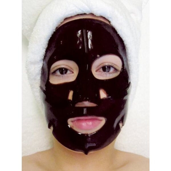 Hydrophylic Gel Collagen Mask - Charcoal Collagen Mask Pack of 15 - Each is Single Use (MC4558 X 15)