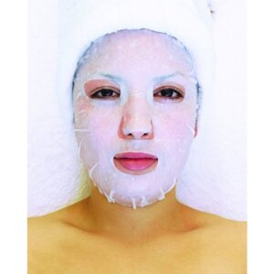 Plant & Vegetable Collagen Mask - Hyaluronic Acid Mask Pack of 20 - Each Pre-Moistened 100% Natural and Paraben Free Mask is Single Use (MS4560 X 20)